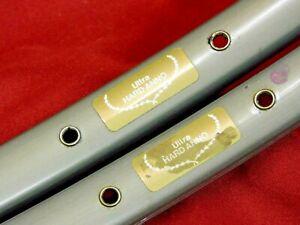 1 Pair Vintage Sun Mistral Ultra Hard Anno 700C Clincher Rims 36H @460 gr Presta