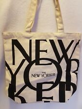 The New Yorker Magazine Classic Canvas Tote Bag