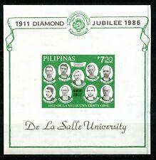 Philippines, 1986, Scott # 1803, Souvenir Sheet, Mint, Never Hinged