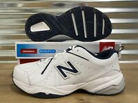 New Balance 619 Training Walking Shoes White Navy 4E Wide Mens SZ ( MX619WN )