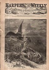1878 Harpers Weekly December 7 - Football; Red River Fire; Canada; New Zealand