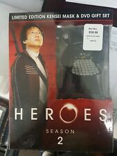 Heroes Season 2 DVD Limited Edition Kensei Mask & Gift Set