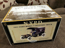 Gearbox 1/16 Scale 1912 Ford Model T NYPD Police Delivery Truck - New York City