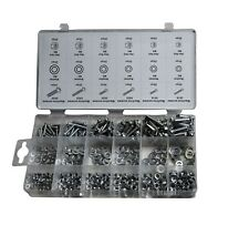 420 pc Metric Nut, Bolt and Washer Kit. 6 sizes (M3 - M6)