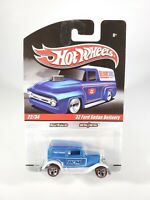 Hot Wheels '32 Ford Sedan Delivery Blue 2010 Slick Rides Real Riders NEW NOC