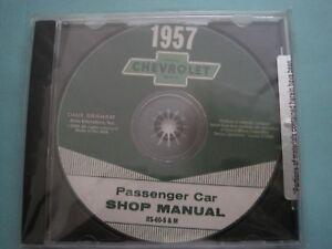 1957  Chevrolet Passenger Shop Manual