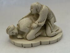 Asian Erotic Netsuke Figurine #1