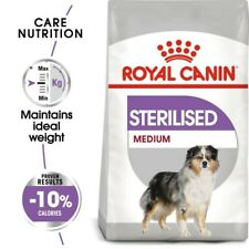 Royal Canin Medium Adult Sterilised Dry Dog Food For Neutered Dogs - 10kg