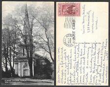 1957 Connecticut Postcard - New Canaan - St. Mark's Episcopal Church