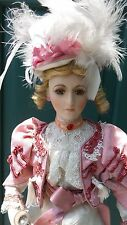 """18"""" Lovely Gibson Girl? Reproduction French Fashion Doll? Pretty dress & Boots"""