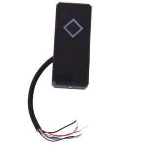 Wasserdicht Security Door Black ID Wiegand 26 RFID Card Reader Leser Codeschloss