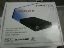 boitier externe USB  pour disque dur 3.5 - HDD SATA- PEEKTON JIGA PEEK 35