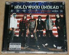 Hollywood Undead Desperate Measures CD & DVD 2 Disc Album 2009