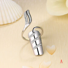 Fashion Cute Starfish Twisted Above Knuckle Band Midi Finger Nail Ring Golden