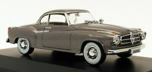 Atlas Editions 1/43 Scale Model Car 7 129 105 - Borgward Isabella - Gunmetal