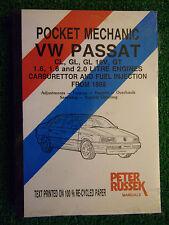 VW VOLKSWAGEN PASSAT WORKSHOP MANUAL PETROL CARB Fi GT 16V PETROL 1988-96 E-P