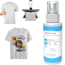 Sublimation coating spray for Cotton T-Shirts Pillow Hat Canva wood carton 100ml