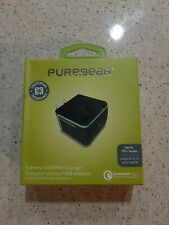 PureGear Extreme USB Wall Charger (60587PG) Black Quick Charge Apple Certified