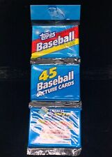 1992 Topps 45 Pack Cards Brand New Sealed #40 Cal Ripken Jr. Grade? MLB Baseball