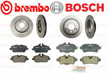 NEW Mini S Cooper Set of 2 Front + 2 Rear Disc Brake Rotors and Pads