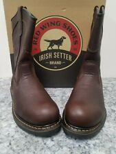 """Red Wing Irish Setter 83905 11"""" slip on soft toe EH Rated"""