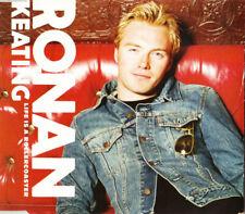 RONAN KEATING: LIFE IS A ROLLERCOASTER - CD (2000) 3 TRACKS / CARD SLEEVE