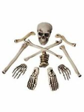 Halloween Party Decoration Skull Hands Bones Decorating Kit 12 Pack