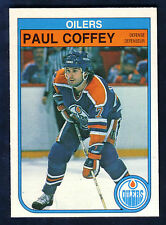 82/83 O PEE CHEE OPC PAUL COFFEY #101 * EDMONTON OILERS SHARP CARD