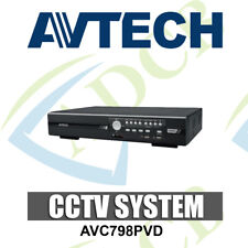 AVTECH AVC798PVD 16CH DIGITAL VIDEO RECORDER DVR 4TB USB BACKUP CCTV SECURITY