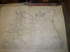 Russia in Europe (1of 4 sheets) JW Lowry Dispatch Atlas1863- cm42x62Framed40more