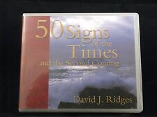 50 Signs of the Times and the Second Coming  (Unabridged, 4 CD's)
