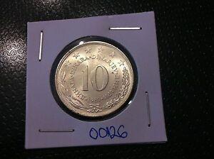 Yugoslavia 10 Dinara, 1980- COPPER-NICKEL- FANTASTIC COIN !!!