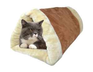 SELF HEATING CAT TUNNEL AND BED