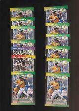 1989 Donruss Mark McGwire Athletics #95 #7 Lot of 13