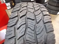 P275/60R20 Cooper Discoverer A/T3 OWL Used 275 60 20 115 T 10/32nds