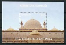 Azerbaijan 2017 MNH Architecture Juma Mosque Shamakhi 1v S/S VI Mosques Stamps