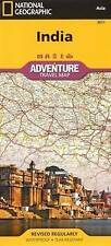 India: Travel Maps International Adventure Map by National Geographic Maps (Sheet map, folded, 2011)