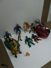 Huge 1980's MOTU Lot of Figures and Vehicles