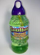 Gazillion 2 Liters Wand Bubble Solution Liquid Soap Refill Bottles Fun Pop Party