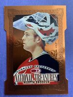 1997-98 Donruss Preferred National Treasures Cut To The Chase 185 Martin Brodeur