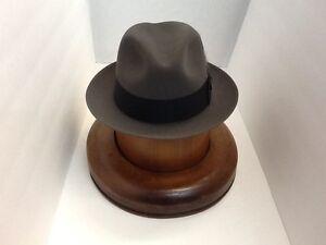 Stetson Cowboy Hat Beaver Fur CARIBOU SAXON  free Brush !