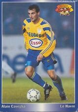 N°058 ALAIN CAVEGLIA # FRANCE FC.SOCHAUX CARD CARTE PANINI FOOT 1995