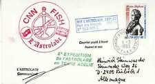 FSAT - TAAF Terre Australe et Antarctique Française Lettre CNN Fish l'Astrolabe