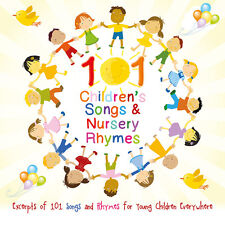 101 Young Children's Nursery Rhymes & Songs CD Brand NEW