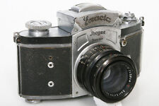Exacta (Exakta) Ihagee 35mm Camera With Zeiss Biotar 5.8cm f2 Lens 58mm