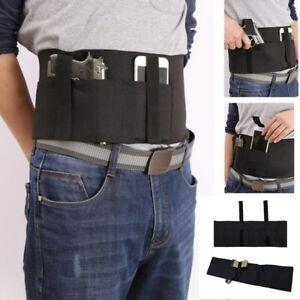 Universal Hand Gun Pistol Holster Waist Band Light Elastic Belt Fit Molle System