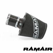 Ramair Nero Medio con base in alluminio Schiuma Filtro dell' aria con 70 mm ID Accoppiamento