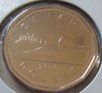 2010 Canada Loonie One Dollar Coin. Canadian UNC. 1 $