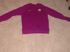 nike pink barcelona fc sweatshirt mens Large