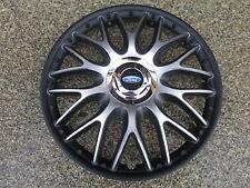 4 Alu-Design Radkappen 14 Zoll Orden black matt für Ford